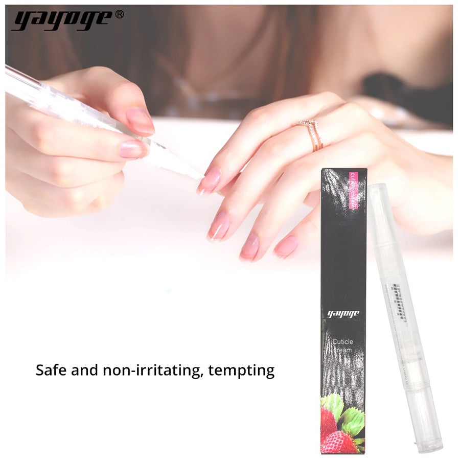 YAYOGE Cuticle Oil Fruit Nail Softener Pen Cuticle Exfoliant Cream For Nail Art DIY Manicure Tool - YAYOGE Official