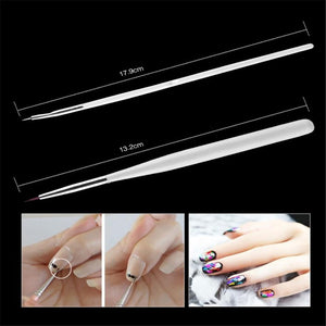 15Pcs/Set Nail Art UV LED Gel Brush Pen Nail Painting Dotting Drawing Salon DIY Set - YAYOGE Official
