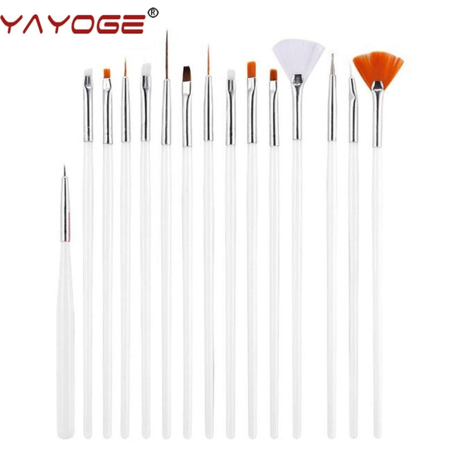 15Pcs/Set Nail Art Brush Pen Set NP05