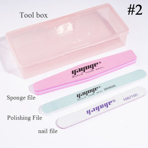 YAYOGE 4Pcs Nail File Kit - YAYOGE Official