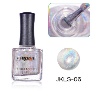 US WAREHOUSE YAYOGE 12ml Highly Pigmented Holographic Nail Polish Unltra Fine Glitter Varnish Nail Laser Lacquer - YAYOGE Official
