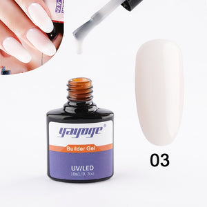 US WAREHOUSE YAYOGE 5Colors Builder Gel Liquid Quick Nail Extension UV LED Varnish Extending Gel Nail Art Salon - YAYOGE Official