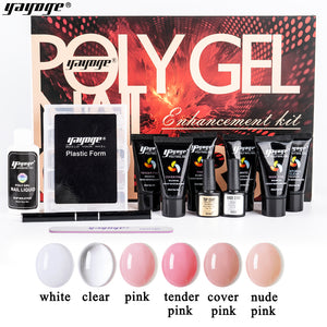 12Pcs/Set Poly Gel Gift Box Kit P26-6P-A