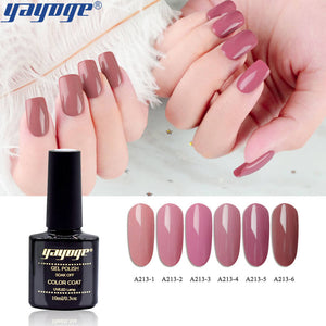YAYOGE 6Colors Bean Paste Series UV LED Soak Off Nail Gel Polish Lacquer Nail Art DIY Gel - YAYOGE Official