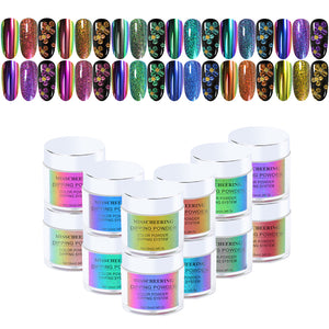 50% OFF 12 Colors 4 in 1 Dipping Powder DPXG US WAREHOUSE