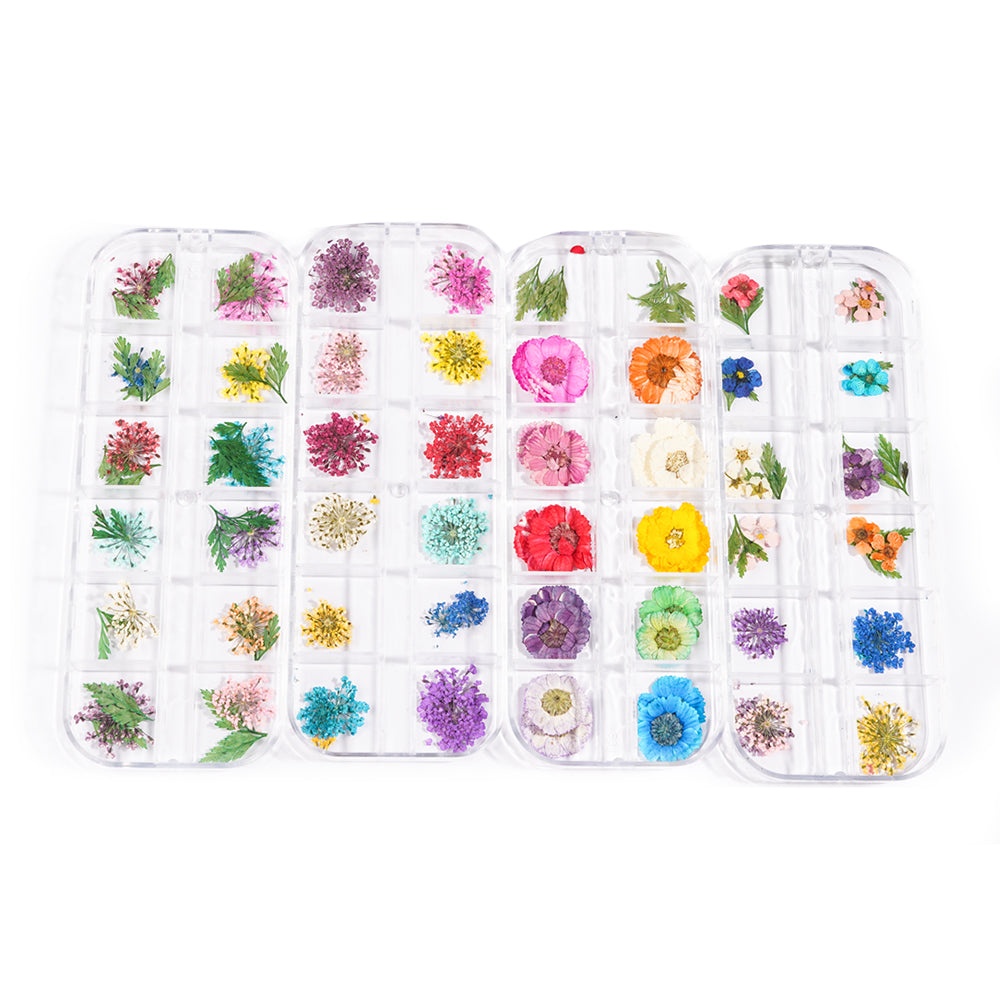 Flower Pattern DIY Adhesive Nail Stickers