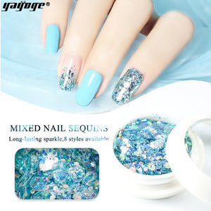UK WAREHOUSE Glitter Nail Sequins HC