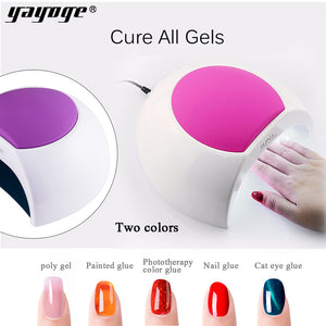 SUN2C 48W Professional LED UV Nail Lamp Dryer Auto Sensor Nail Gel Curing Machine Nail Art Manicure Tool - YAYOGE Official