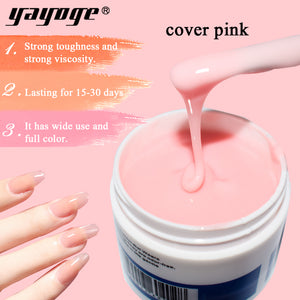 YAYOGE 56g Cover Pink Builder Gel Quick Extension - YAYOGE Official