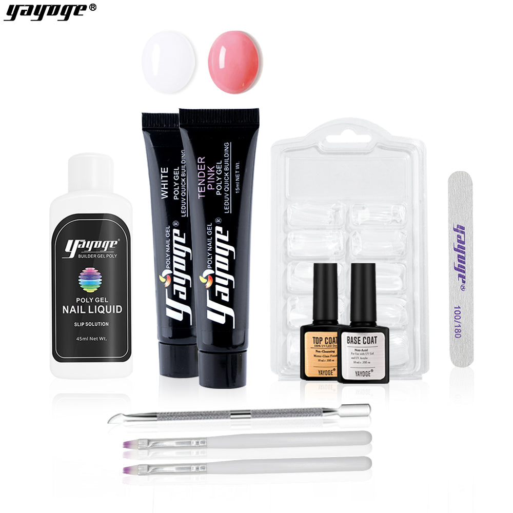 50% OFF 7 Basic Colors Poly Gel Kit P15-A10-4 US WAREHOUSE