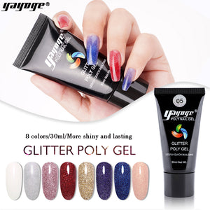 US WAREHOUSE Glitter Polygel P17