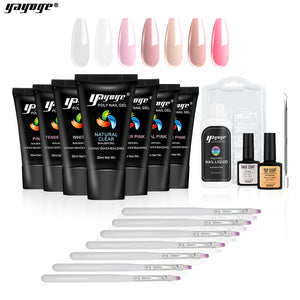 BE WAREHOUSE 7 Basic Colors Poly Gel Set P26-S3-7P(30ml)