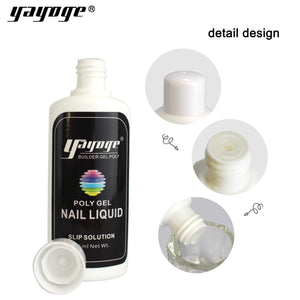 UK WAREHOUSE Yayoge 45ml Anti-stick Poly Gel Silp Solution Nail Extension Tool - YAYOGE Official