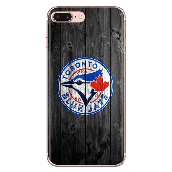 Toronto Blue Jays Baseball Phone Covers For Samsung Galaxy Made With A Soft Transparent Shell