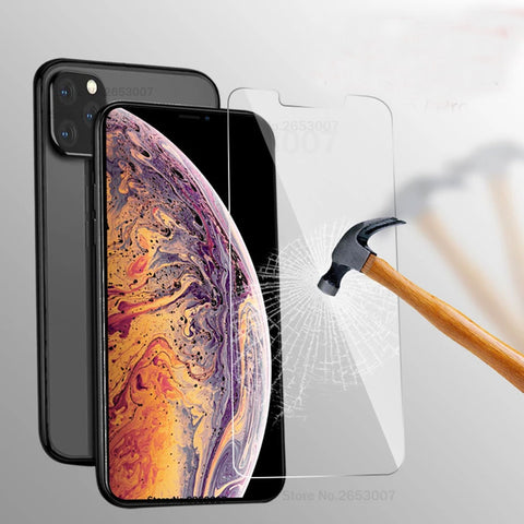 Glass For iPhone 11 Pro Max 11 XS XR 7 8 Plus Screen Protective Glass on iphone 11 Pro Max 7 8 6s Plus X 11 Pro 6 6S 5S SE 5C 4S