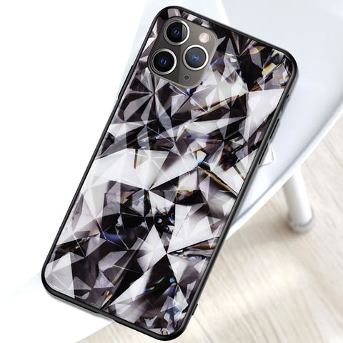 For Apple iPhone 11 Case Luxury Hard PC Diamond Texture Protective Back Covers Case For iPhone 11 Pro Max iPhone 11 11 Pro Shell