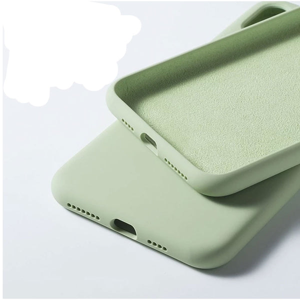 Original soft silicone opaque phone case and shockproof rubber gel phone cases for iPhone X