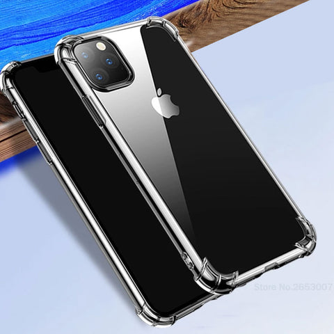 Soft Airbag Case For iPhone 11 Pro Max XR XS X 8 7 6 6s Plus 11 Pro MAX Anti-Knock Shockproof Funda Case For iPhone 11 Pro MAX