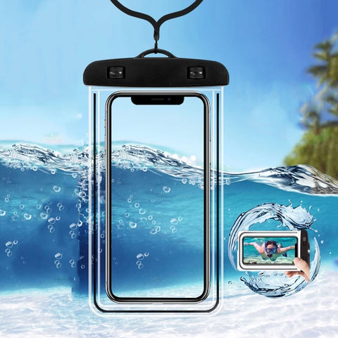 Clear Waterproof And High-Quality PVC Sealed Phone Case For iPhone