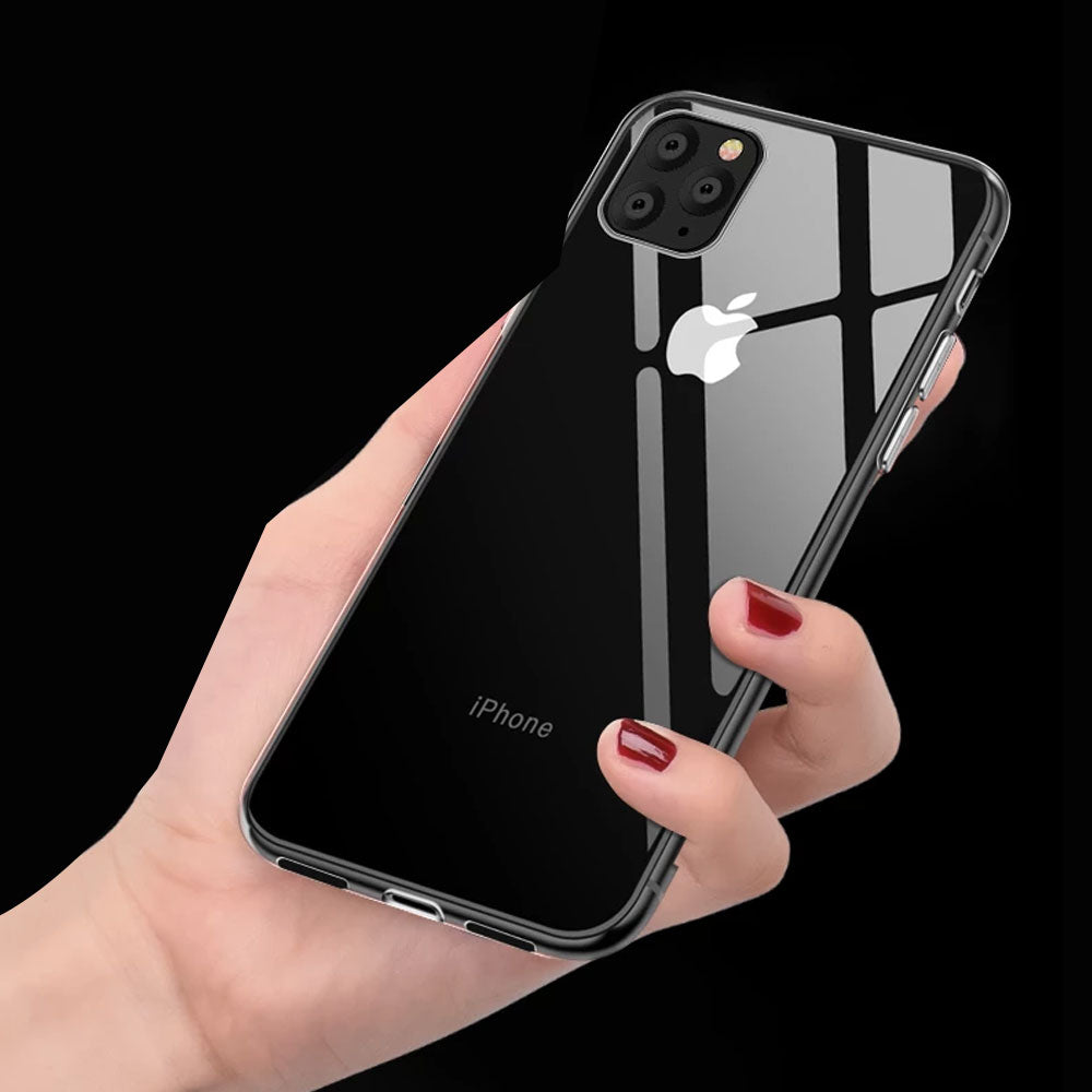 Transparent Soft TPU Phone Case For iPhone 11 2019 Clear Soft Case For iPhone 11 Pro Max XI XIR Covers Capa For iPhone XR X XS Xi