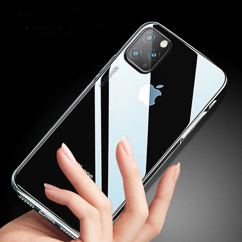 Baseus Anti-knock Case For iPhone 11 5.8 6.1 6.5 inch 2019 Clear TPU Air Bag Covers For iPhone 11 Pro 11 Pro Max Phone Capa Coque