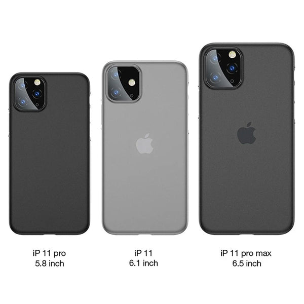 Cafele PP Case For iPhone 11 Pro Max X XS Max XR Covers Ultra Thin Matte Cases For Apple iPhone 11 Pro Fashion Fitted Back Shell