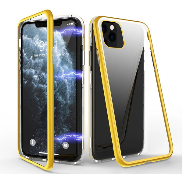 KISSCASE Strong Magnetic Case For iPhone 11 Pro Max XS Max XR X Back Glass Phone Cases For iPhone 8 7 Plus 11 XR X Cover Coque