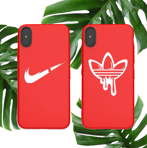 Couple Sports Covers Logo Phone Covers Matte Covers Made For iPhone