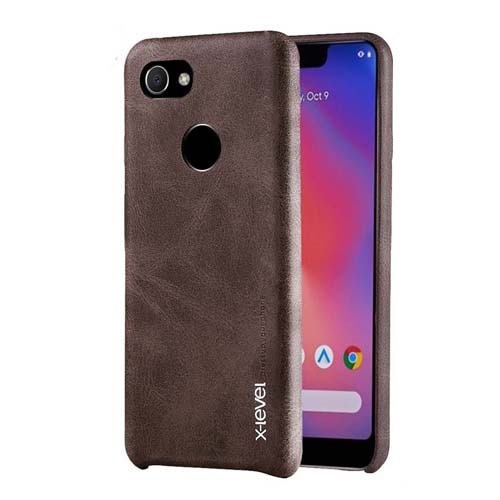 X-level Vintage Leather Case For Google Pixel 3 3XL Slim Soft Back Cover for Google Pixel 3A XL Case Gentleman Business
