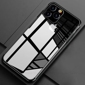 Phone Case For iPhone 11 Pro Max 2019 11 Pro X XR XS Max Fashion Soft Plating Protective Cases For iPhone X 6S 7 8 Plus 11 Pro