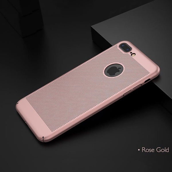 Heat Dissipation Case For iPhone 11 Pro Max XS XR MAX 7 8 Plus 6 6S Plus 5 5S SE 11 Pro Max Hard PC Shockproof Ultra Coque 2019