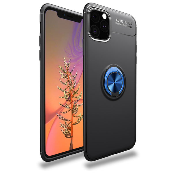 Phone Case For iPhone 11 Pro Max 11Pro Case Luxurry Magnetic Car Ring Soft Silicone Covers For iPhone X XS Max XR Case Covers Capa