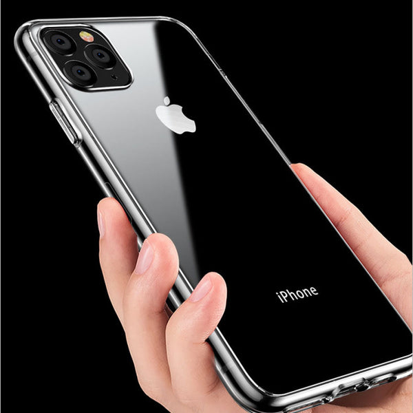 Slim Clear Soft TPU Covers For iPhone 11 2019 Case Support Wireless Charging for iPhone 11 Pro Max 5.8inch 6.1inch 6.5inch New