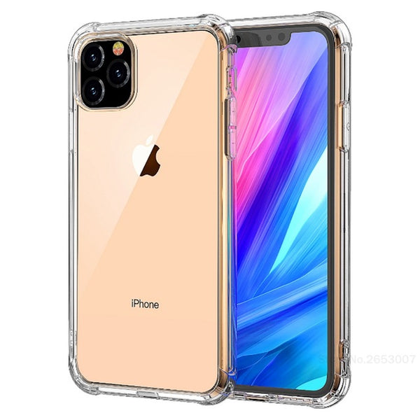 Case For iPhone 11 Pro Max XR XS X 8 7 6 6s Plus 11 Pro MAX Anti-Knock Shockproof Covers Funda Case For iPhone 11 Pro MAX 11 Pro
