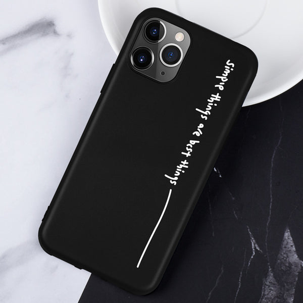 Silicon Phone Case For iPhone 11 Pro Max Soft TPU Covers Case For iPhone 11 Pro Max 6.5 on iPhone 11 6.1 11 Pro 5.8 2019 Capa Bag