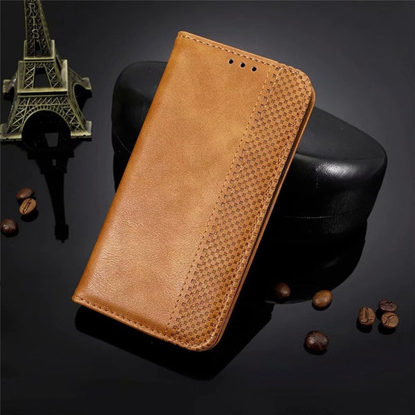 Vintage Magnetic Flip Case for Google Pixel 3 3A 4 XL Lite Luxury Leather Phone Wallet Covers Business Style Fashion Card Holder