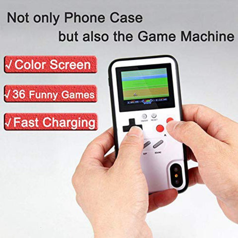 36 Video Games Color Display Phone Cover For Iphone 6 7 8 Plus TPU Frame Game Phone Case