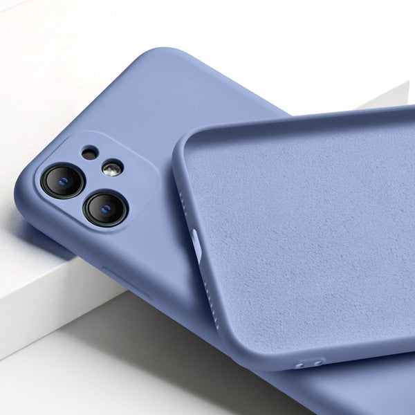Original Liquid Silicone For iPhone 11 Pro Max Camera Protection Soft Case For iPhone 11 Full Protecte Candy Color Back Cover