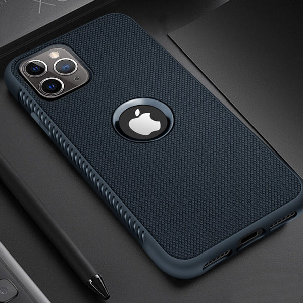 Phone Cover With Precise Hole For iPhone 7 8 Soft TPU Case On For iPhone 8 7 Plus XS MAX XR 11 Pro MAX X XS 11Pro Durable Funda