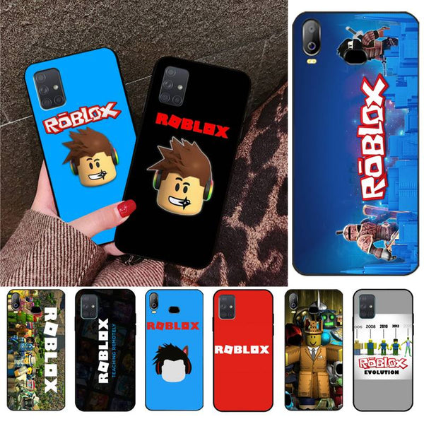 YJZFDYRM Roblox games Phone Case For Samsung Galaxy A01 A11 A31 A81 A10 A20 A30 A40 A50 A70 A80 A71 A91 A51