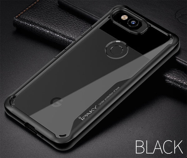 Ipaky Slim Transparent Coque for Google Pixel 2XL
