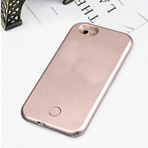 Selfie Light Phone For iPhone XS Max XR X 10 Case For iPhone 6 6s Plus With Lights Flash Luxury For i Phone 7 8 Plus X Covers