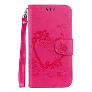 Galaxy Print Flip Covers With Magnetic Clip Closure For Samsung Galaxy