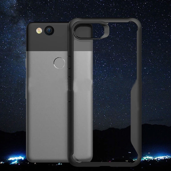 For Google Pixel 2 2XL Case Transparent soft TPU Shockproof Back Cover For Pixel 3 XL Business Silicone Clear Armor