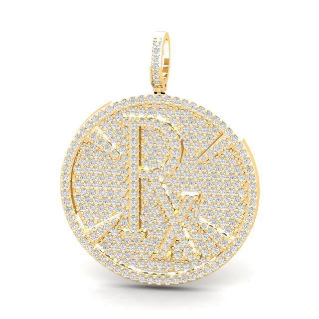 **DROPSHIPPING NOW** Pie-Rx Diamond Pendant - Yellow Gold