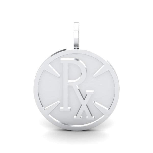 **DROPSHIPPING NOW** Pie-Rx Pendant - White Gold