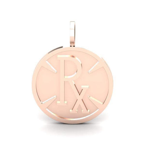 **DROPSHIPPING NOW** Pie-Rx Pendant - Rose Gold