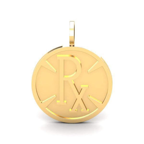 **DROPSHIPPING NOW** Pie-Rx Pendant - Yellow Gold