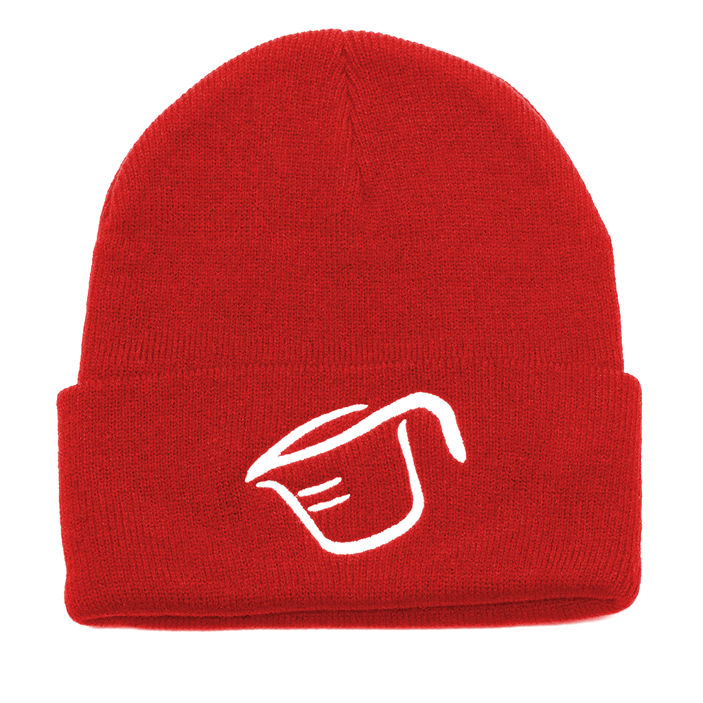 Beanie - Red White Cup