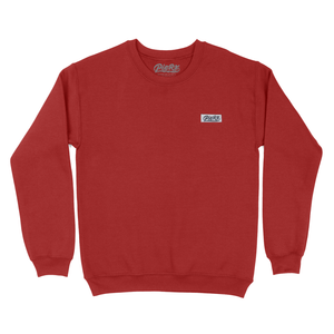 Whip Game Tag Crewneck - Cardinal Red
